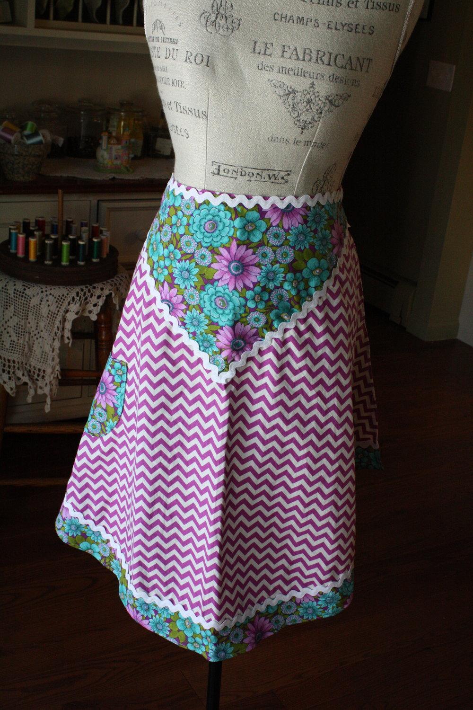 Spring Bouquet - 2015 Spring Collection - Hostess Apron