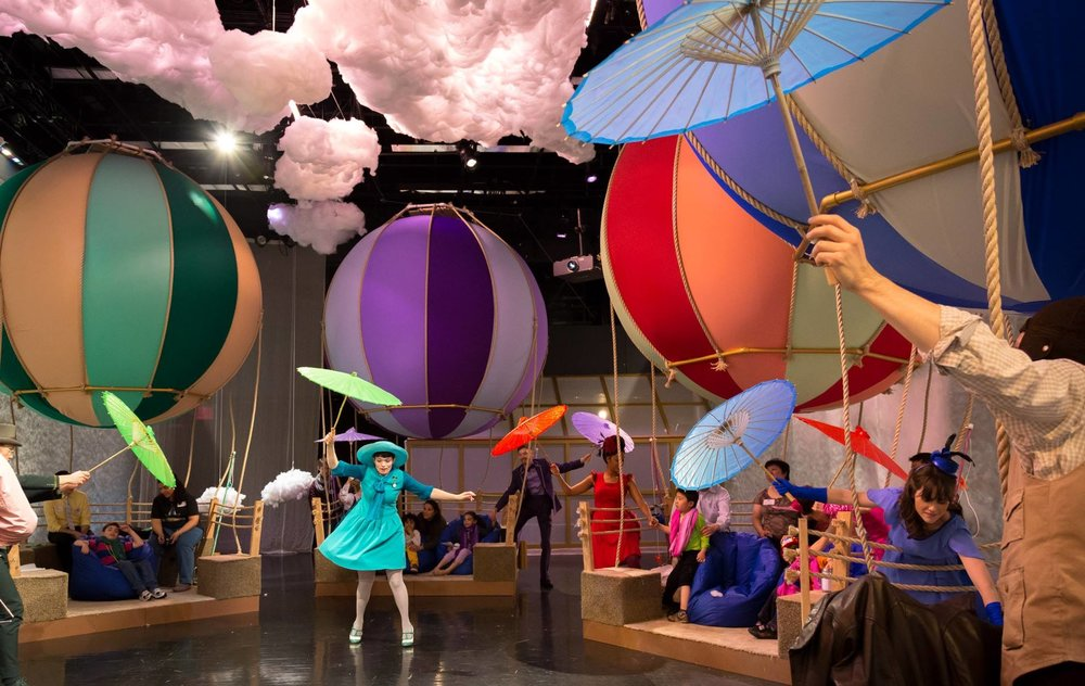 Up and Away   (For ASD Audiences ages 8+)