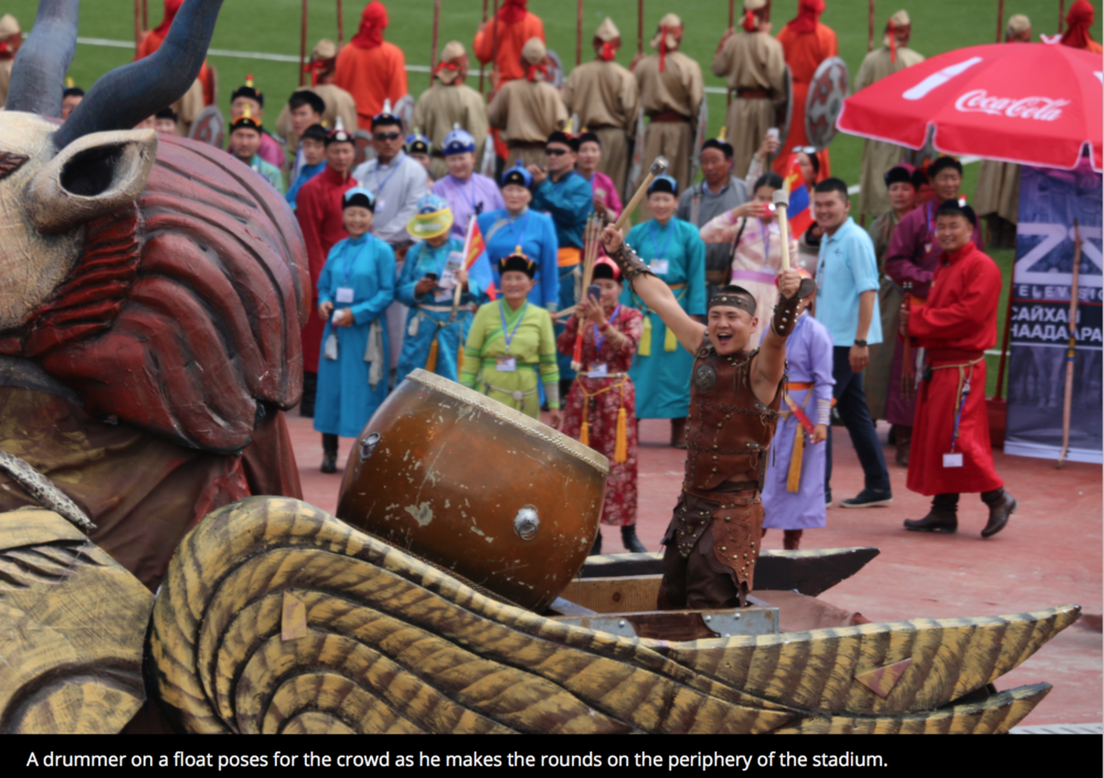 The Naadam Festival: Mongolia's Games   The Diplomat