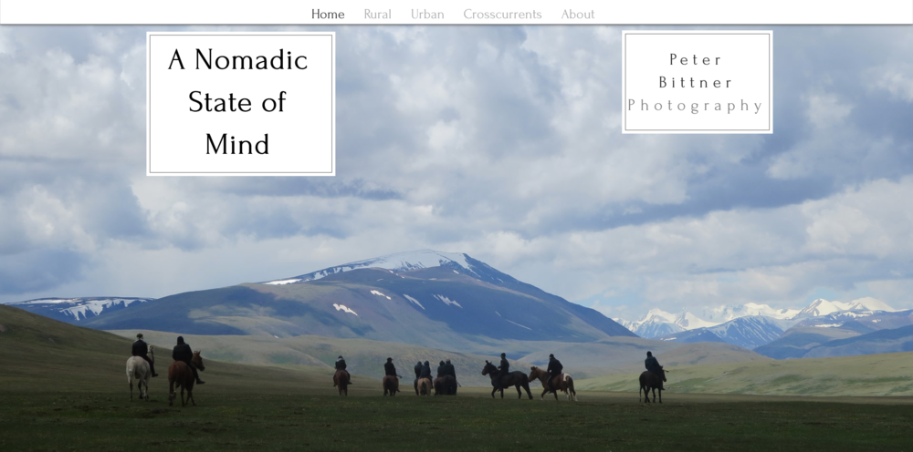 A Nomadic State of Mind, Project   Peter Bittner