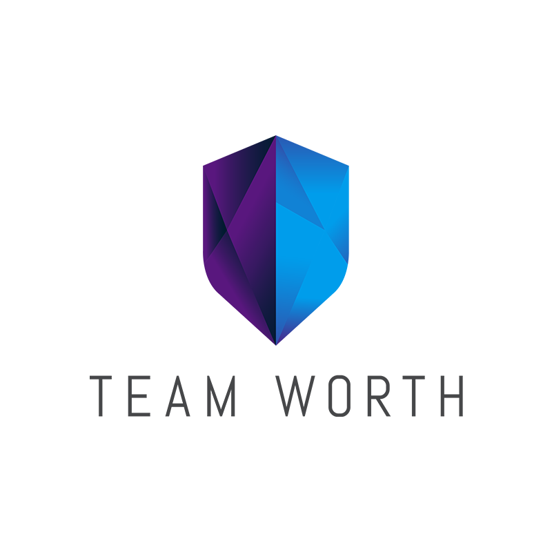 Team Worth, Identity, Logo