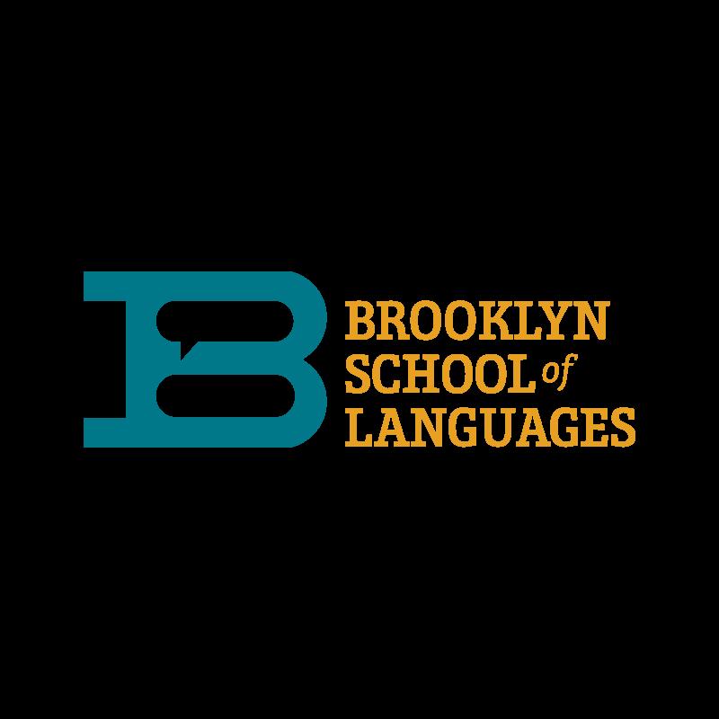 Copy of Copy of Copy of Brooklyn School of Languages, Identity, Logo