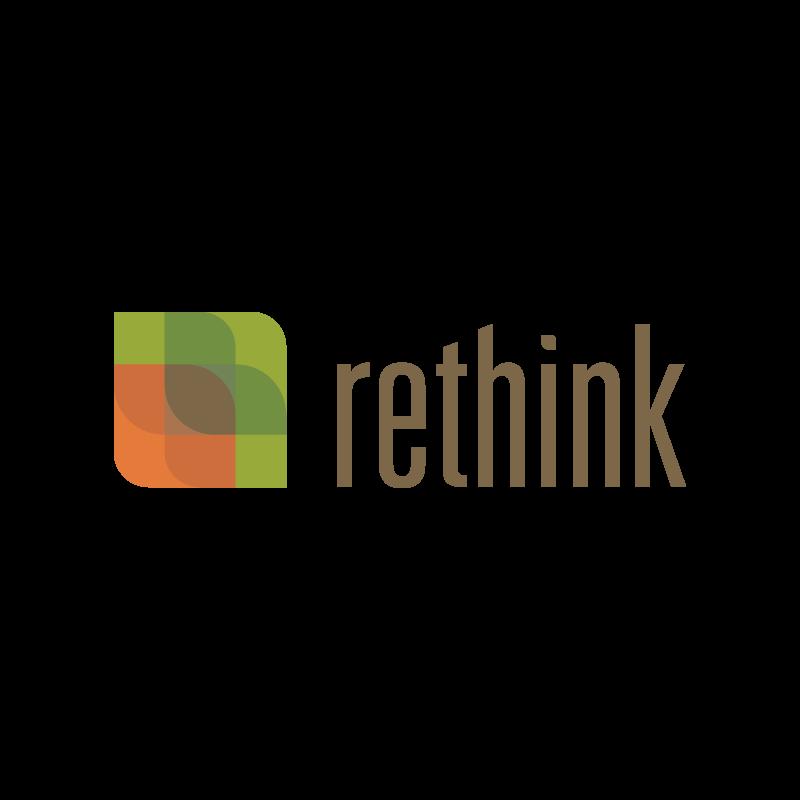 Rethink, Identity, Logo