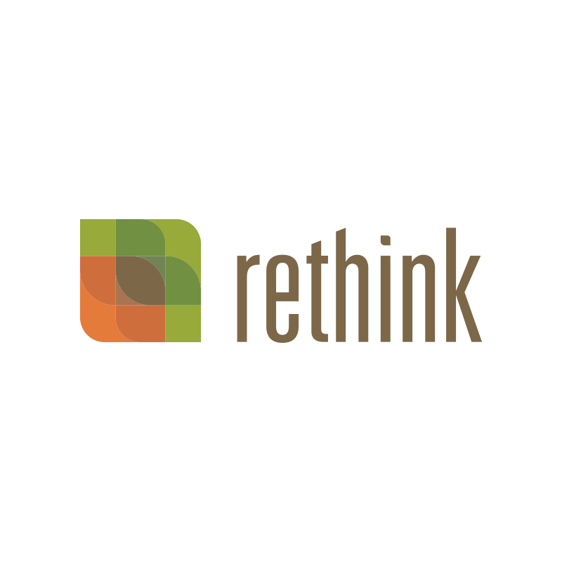Copy of Copy of Copy of Rethink, Identity, Logo