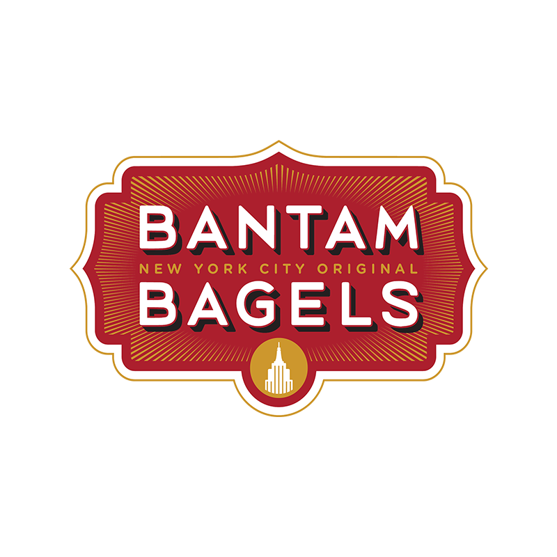 Copy of Bantam Bagels, Identity, Logo