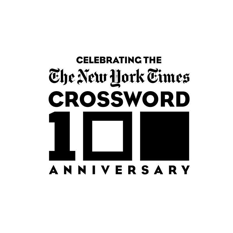 Copy of Copy of Copy of New York Times Crossword 100 Anniversary, Identity, Logo