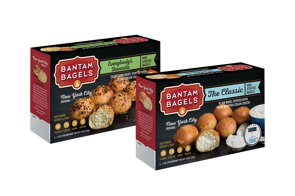 Copy of Bantam Bagels, Packaging, Everybody's Favorite