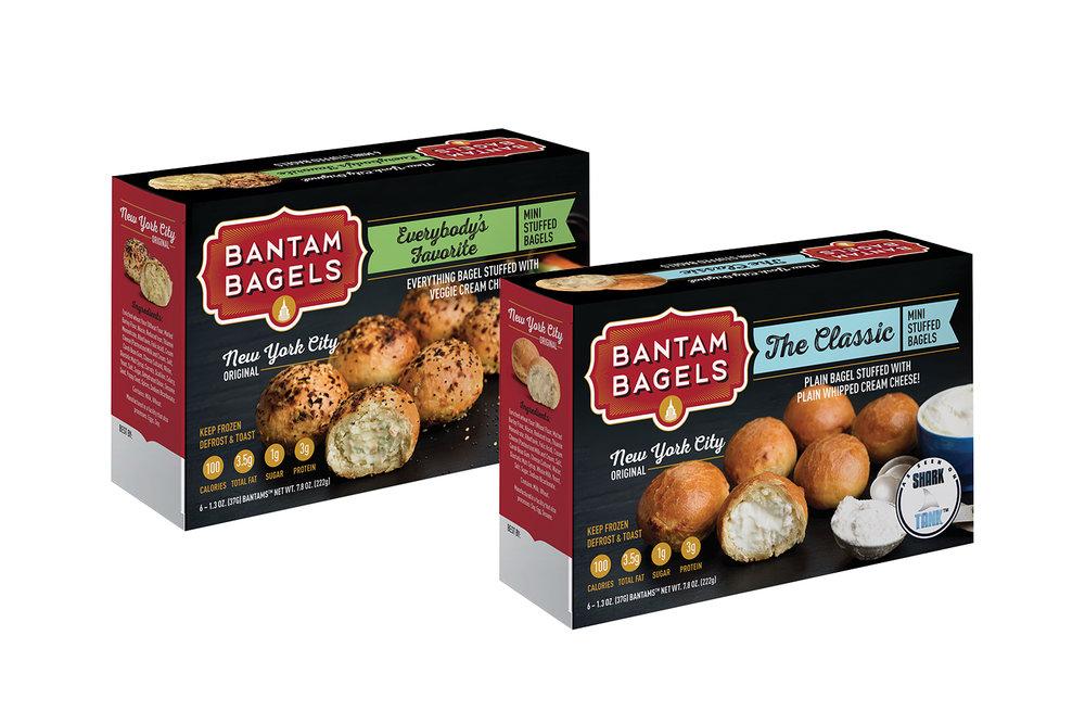 Copy of Copy of Copy of Bantam Bagels, Packaging, Everybody's Favorite