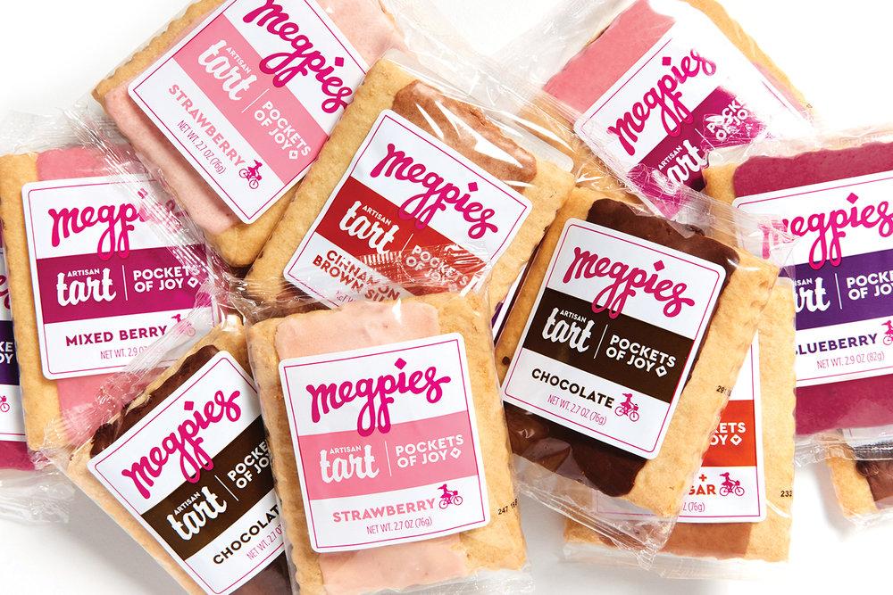 Megpies, Packaging, Tarts