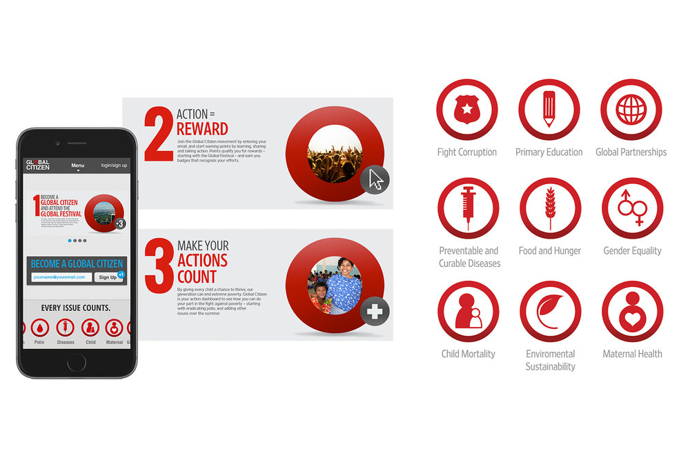 New York Academy of Sciences, Icons + Infographics, App design