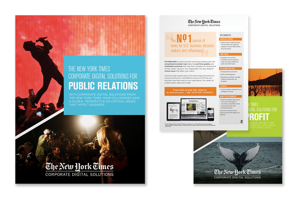 The New York Times, Presentation, Corporate Digital Solutions