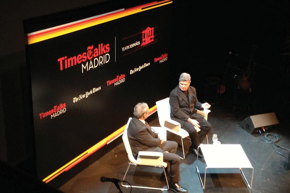 The New York Times, Environmental, Times Talks Madrid