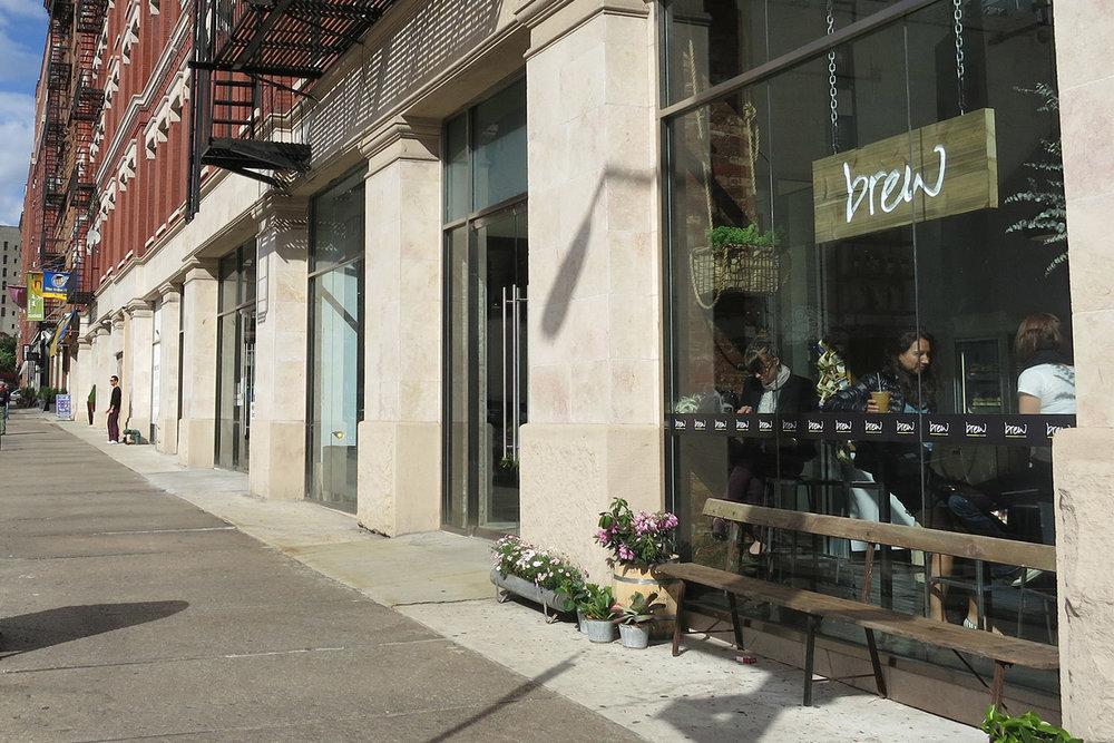 brew, Environmental, Storefront