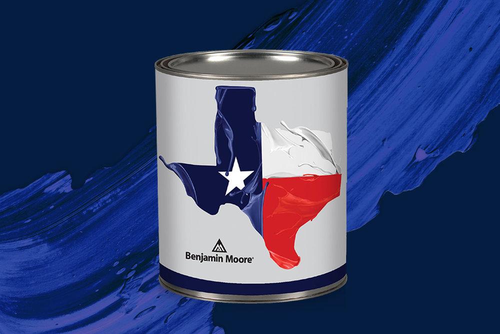 Benjamin Moore, Packaging, Paint Can