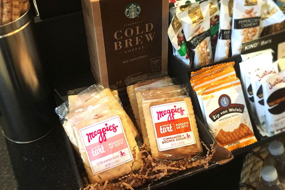 Megpies, Packaging, Tarts, In Store, Starbucks