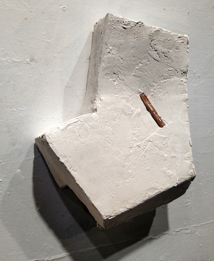 Concave Object with Wood Line (a), 2018