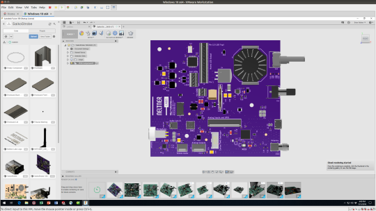 Rendering with high quality silkscreen using EagleCAD and Fusion 360