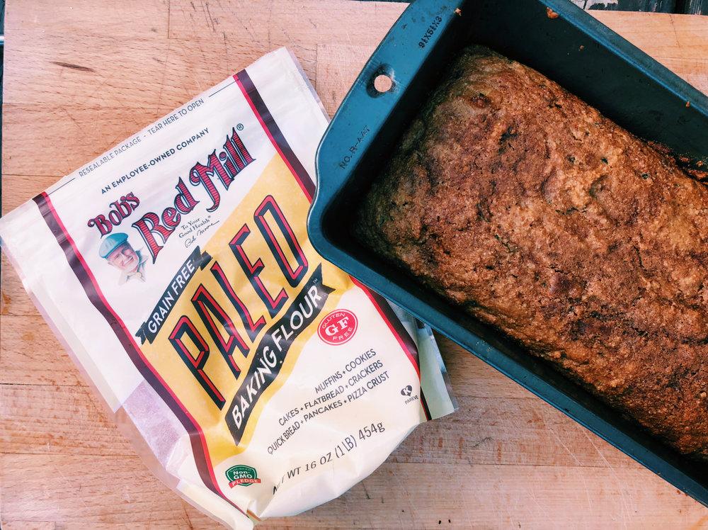Super Simple Paleo Zucchini Bread