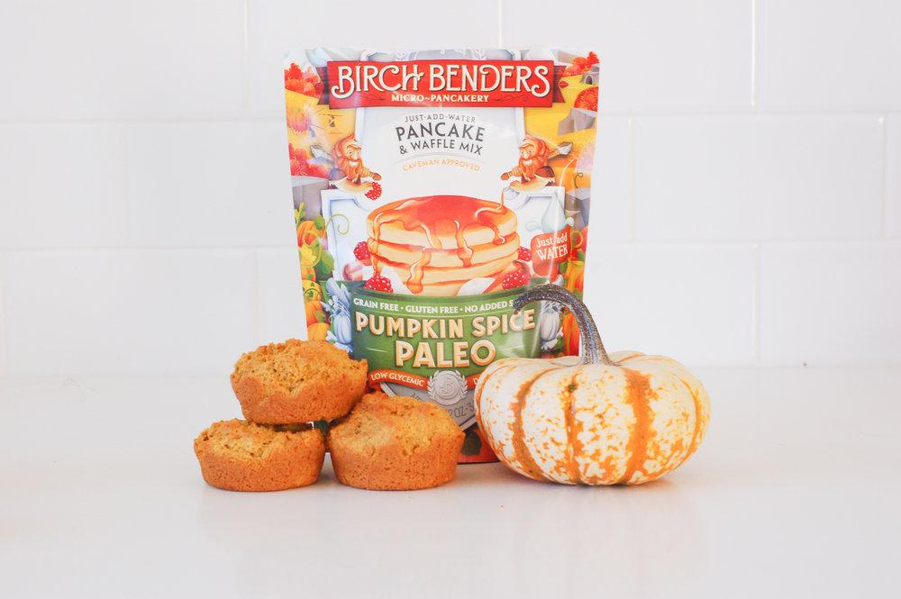 Paleo Pancake Pumpkin Muffins