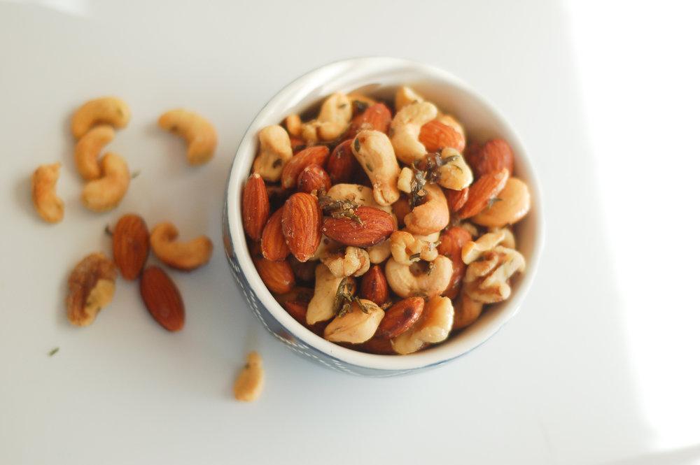 Paleo Herb Roasted Nuts