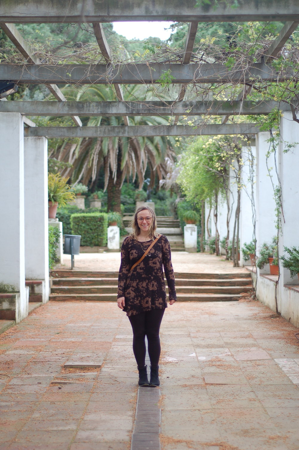 Exploring public gardens in Spain