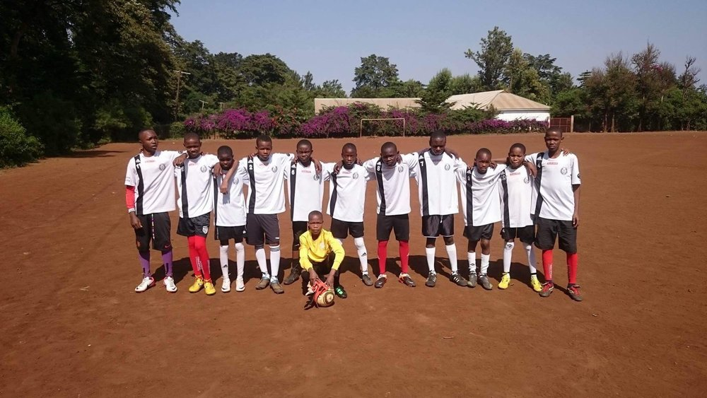 Simbas Cubs the Simbas Footprints Community Center football team.