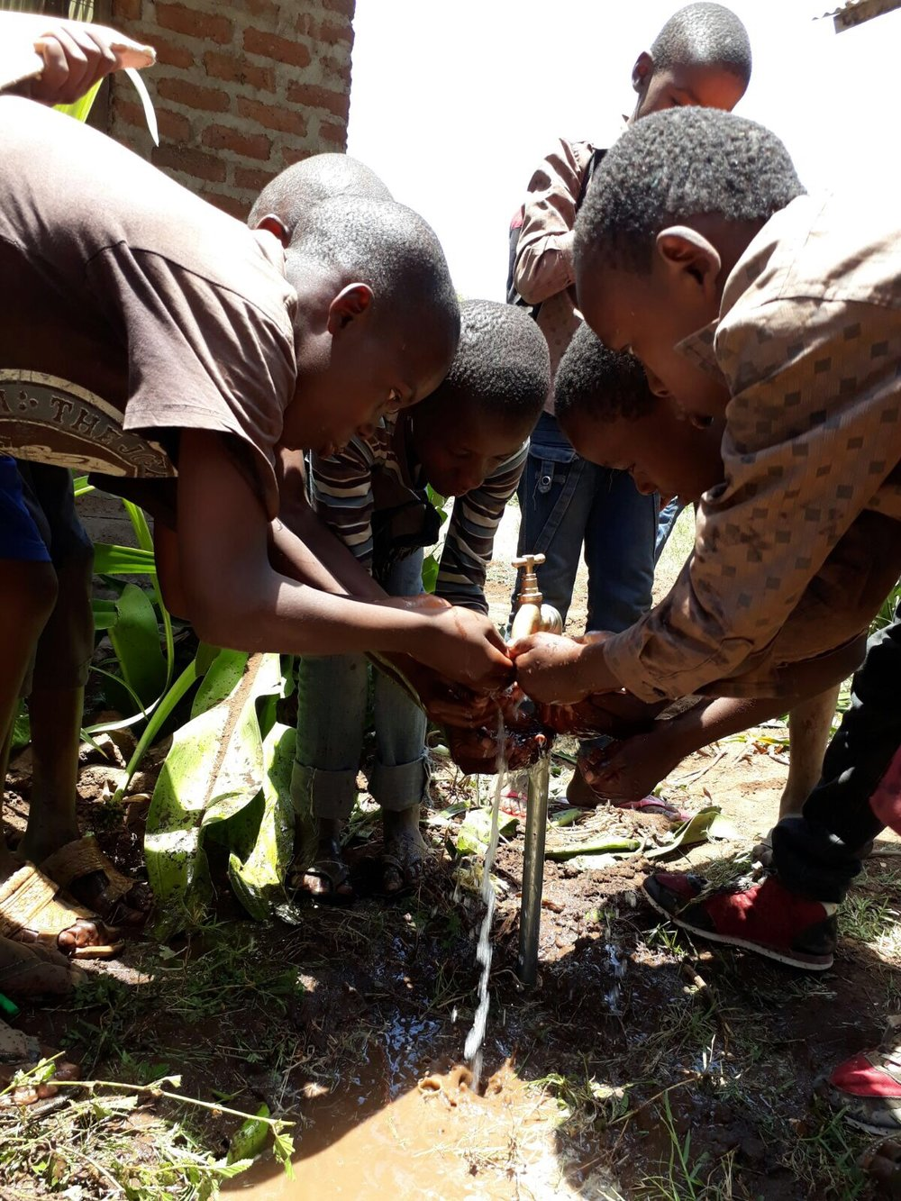 One of the Kahe Schools that Simbas Footprints Foundation supports both with resources and the building of a well.