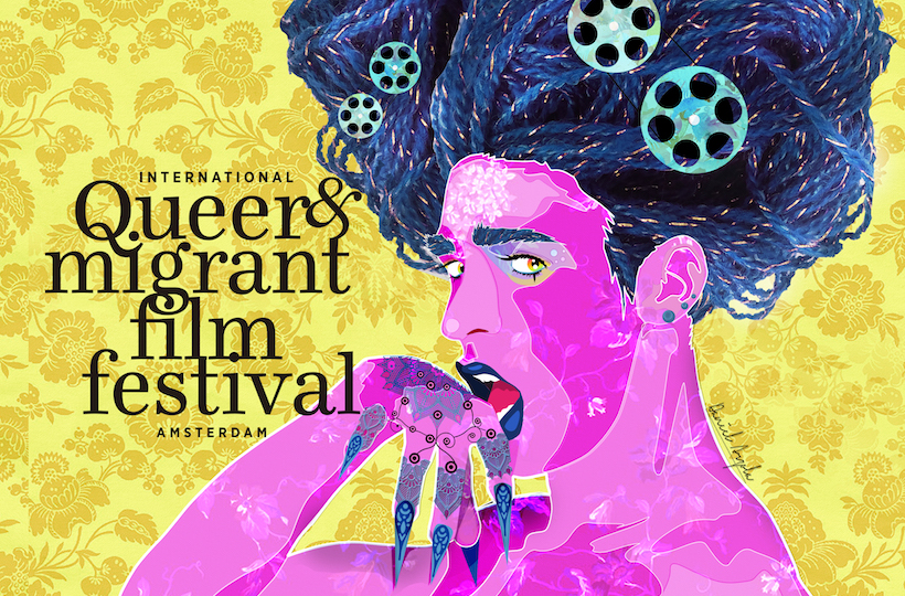 IQMF is a multiday film festival based in Amsterdam that screens films on queer & migrant topics. - We hope to welcome you at our festival!