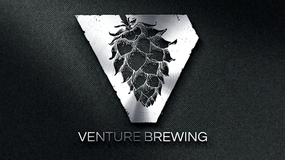Venture Brewing Logo Design