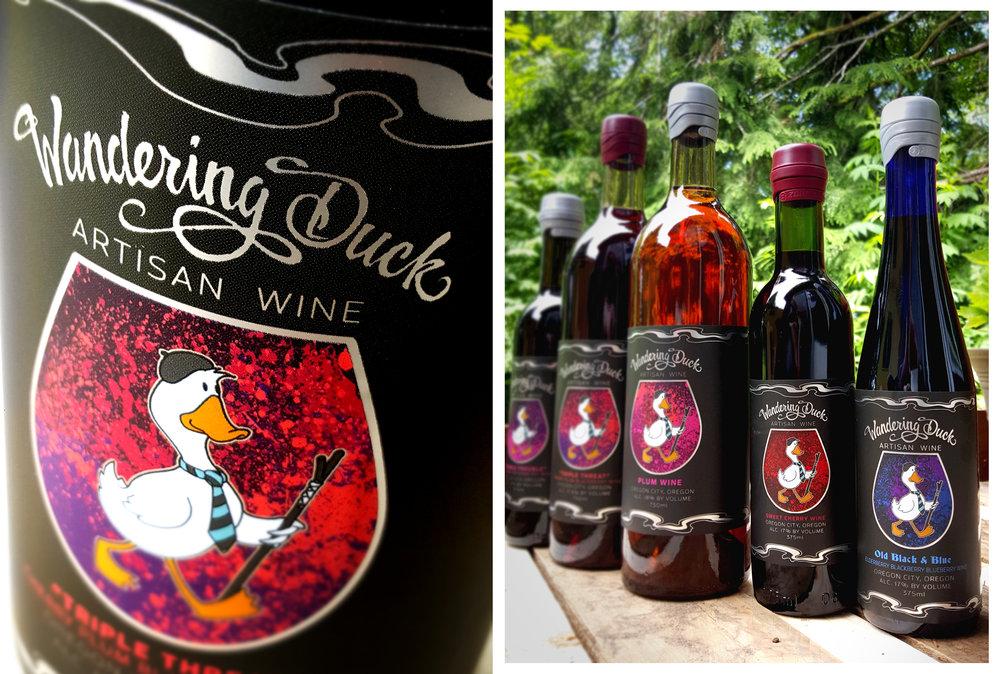 Wandering Duck Logo Design