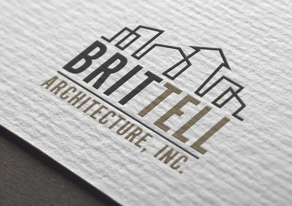 Brittell Architecture, Inc Logo Design