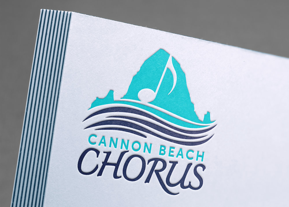 Cannon Beach Chorus Logo Design