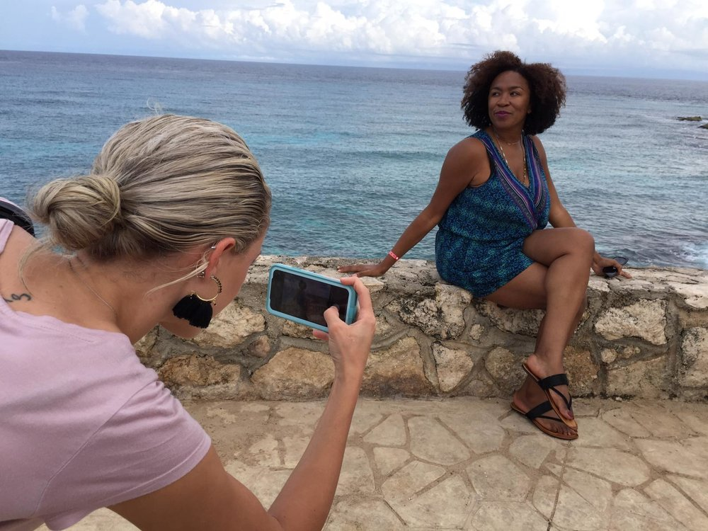 Isla Mujeres is perfect for photo ops!