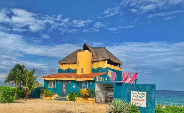 Colorful home on Isla Mujeres