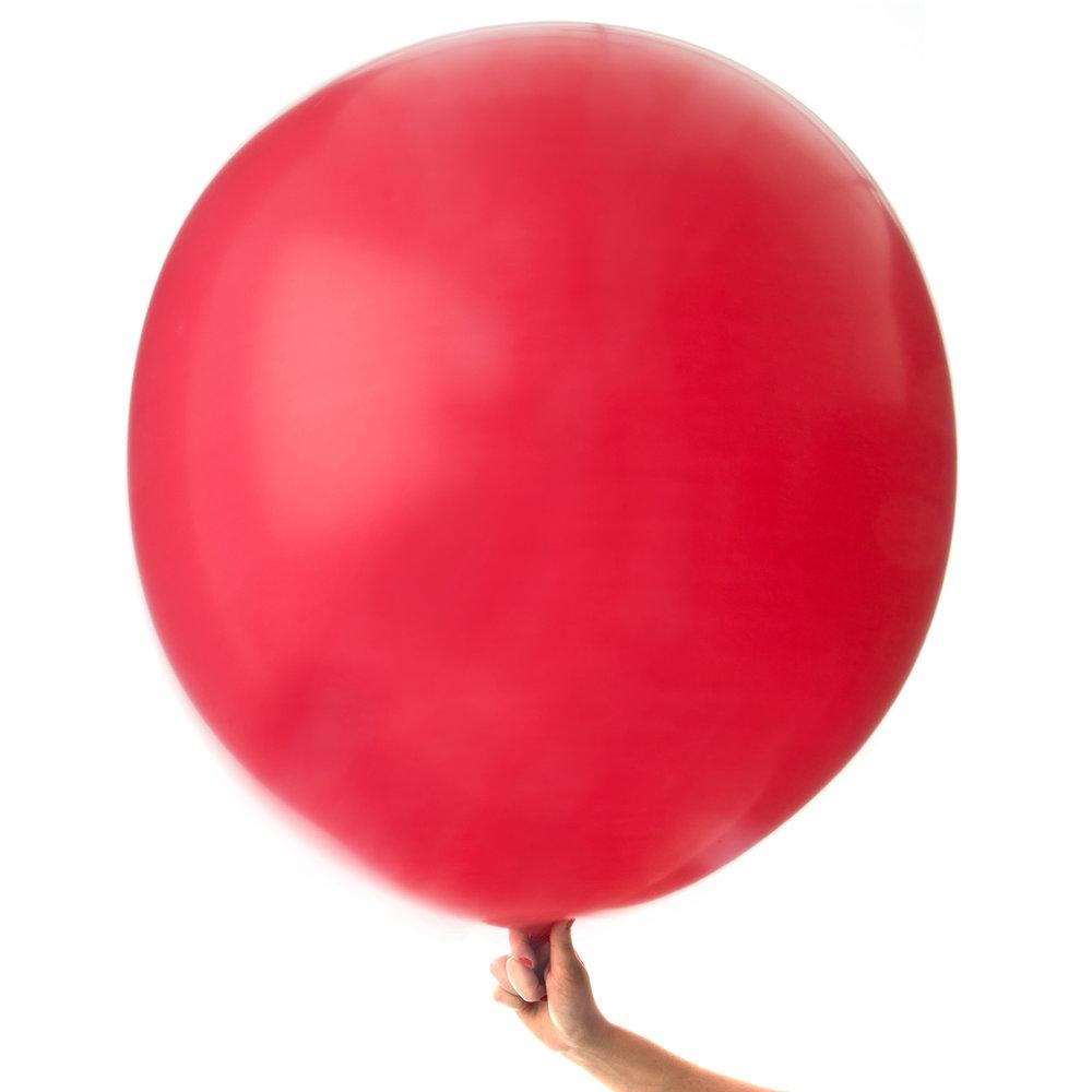 Jätteballong Röd