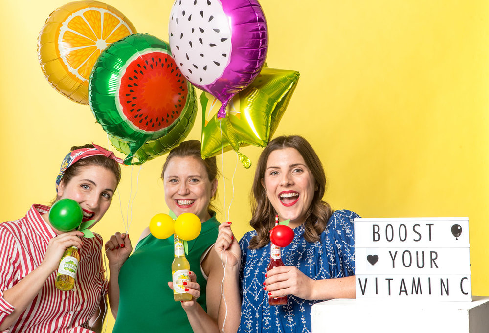 Fruktballonger vitamin injecera ditt party