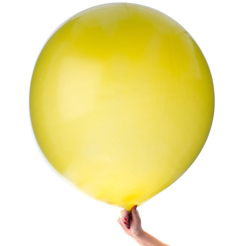 Jätteballong gul