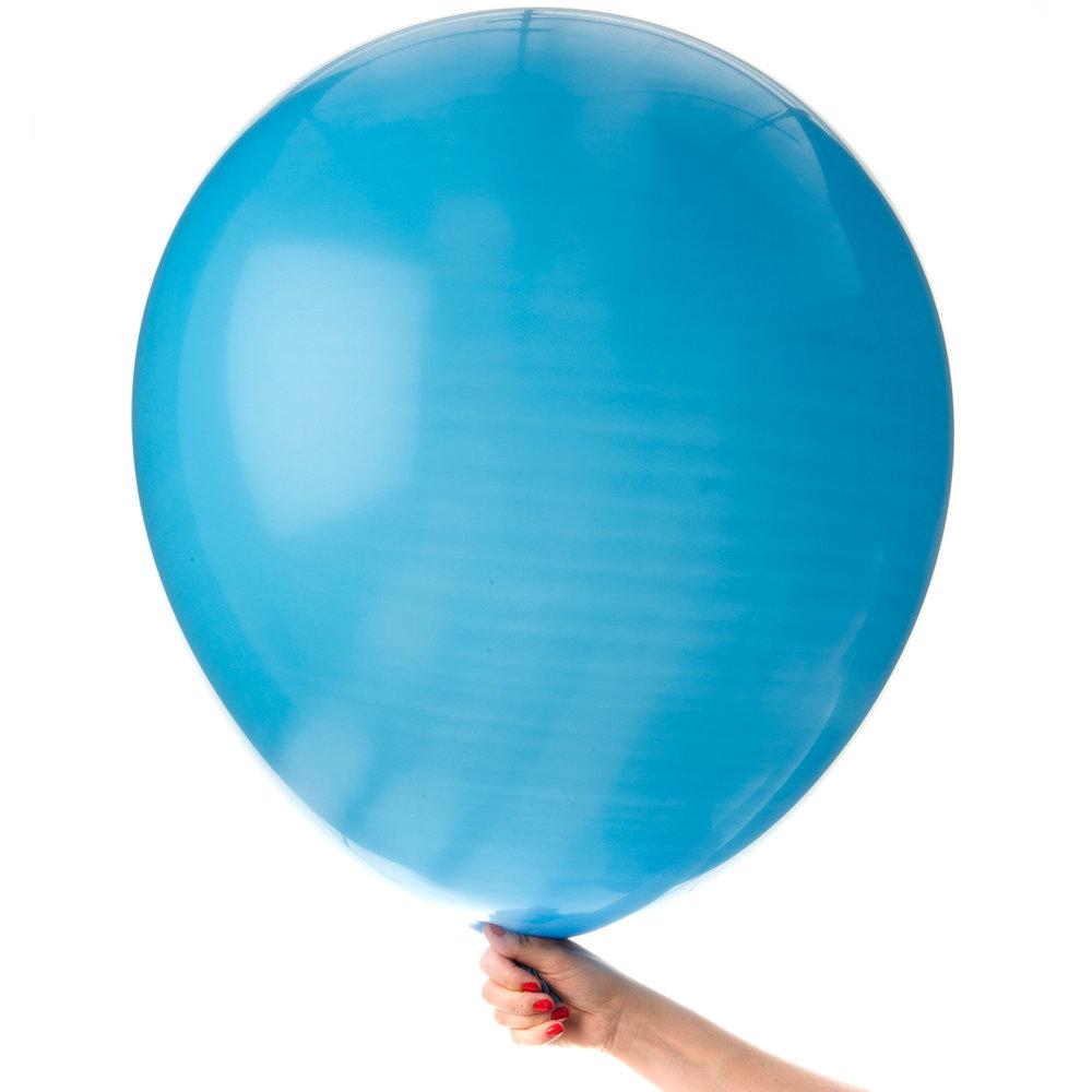 Jätteballong turkos
