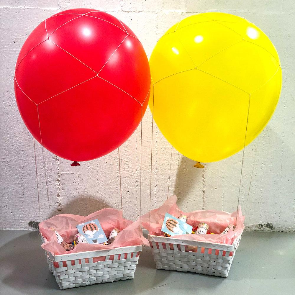 Luftballongsballonger finaste dekorationen och presenten