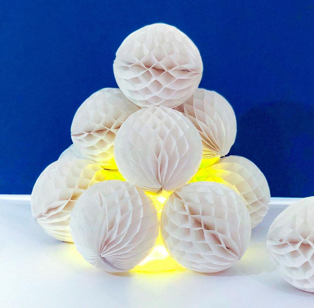 snöiglo av honeycombs