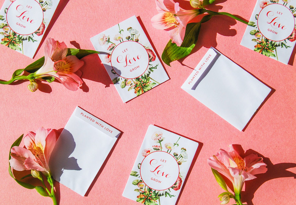 Wedding favour blomfrön