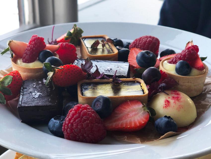 afternoon tea på Vaxholms hotell