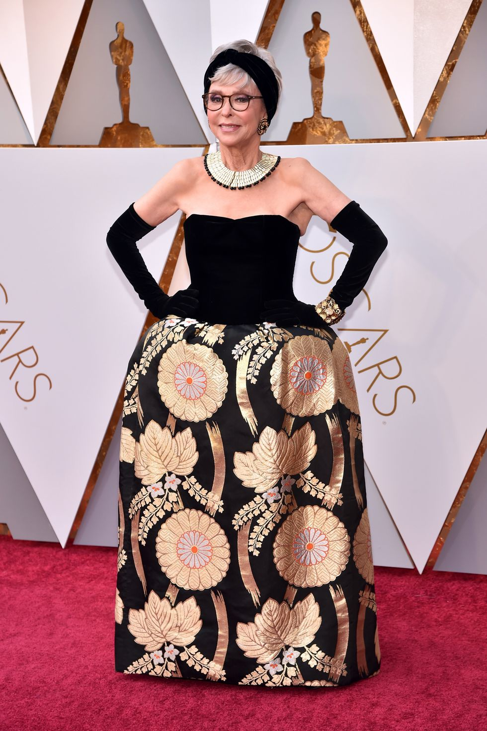 Oscars dress Rita Moreno
