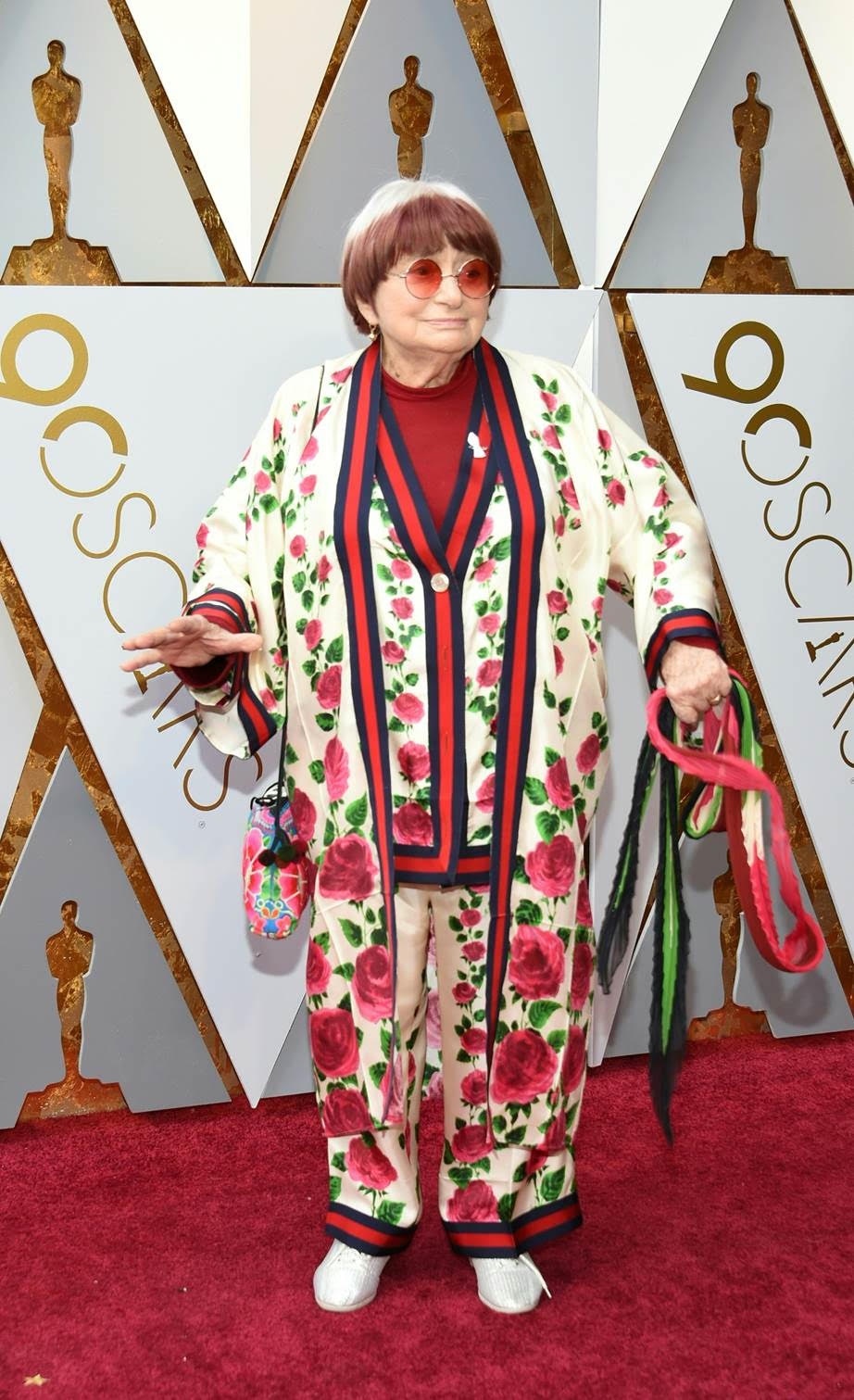 Oscars dress Agnès Varda in Gucci