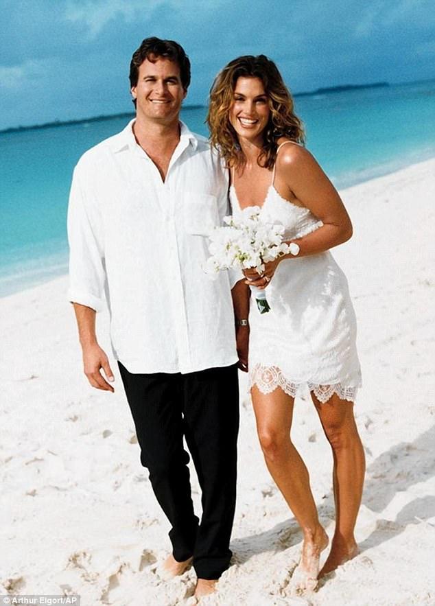 Cindy Crawfords och Rande Gerbers bröllop