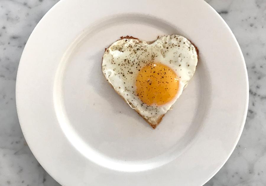 Alla hjärtans dag tips hjärtägg