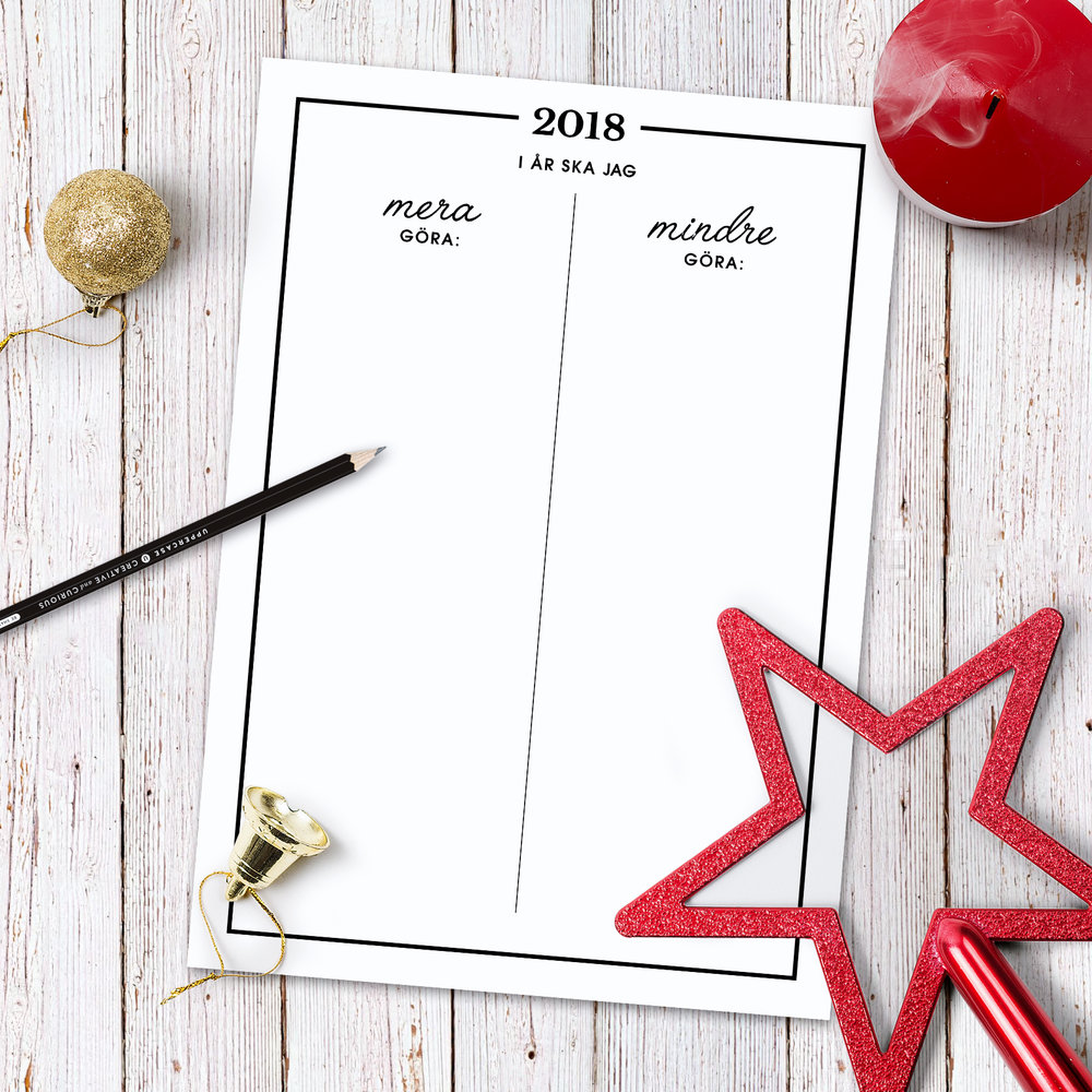 nyårslöfte 2018
