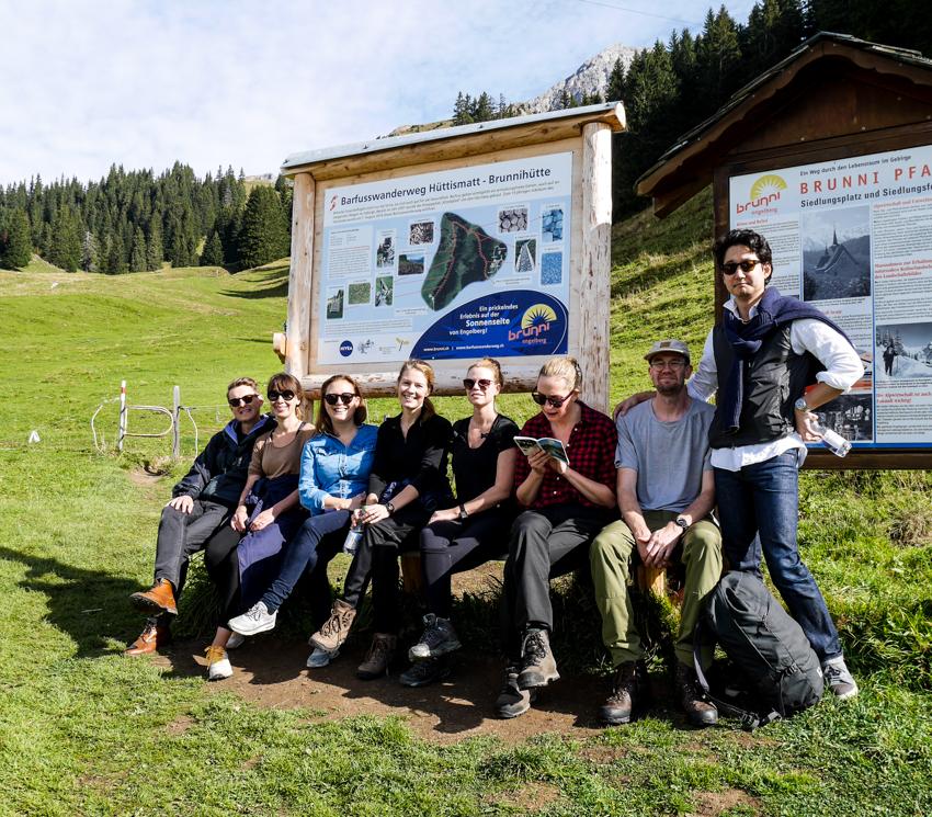 vandring i Engelberg Schweiz