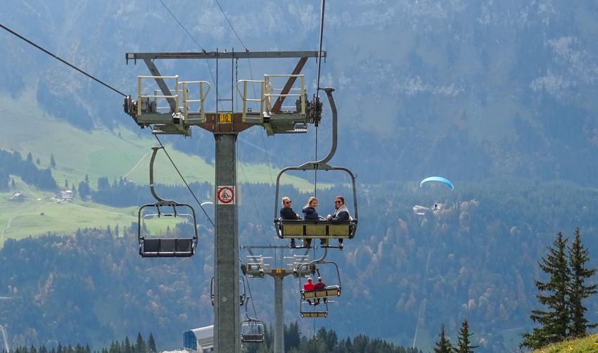 lift i Engelberg Schweiz
