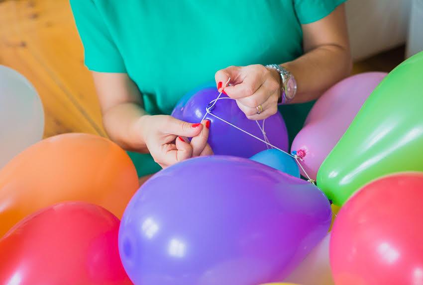 DIY ballonggirlang